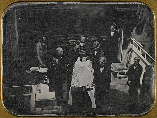 Ether surgery 1847