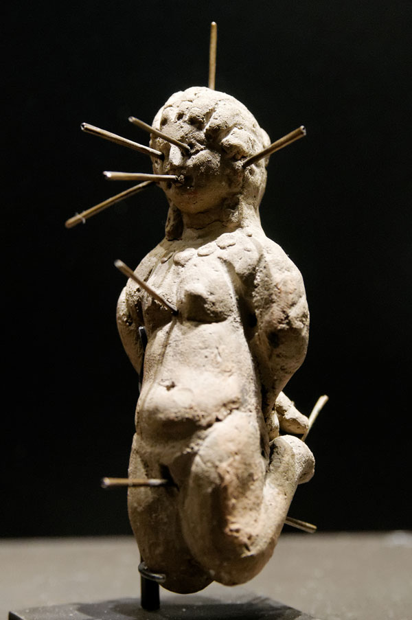 French voodoo Louvre Doll