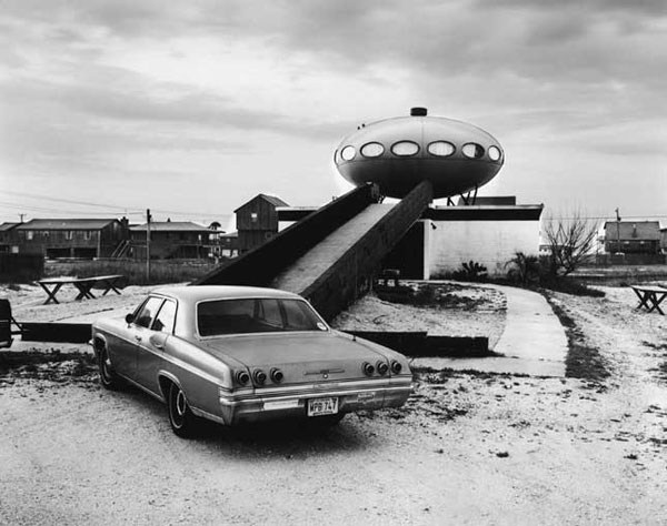Spaceship house in Pensacola Beach, FL