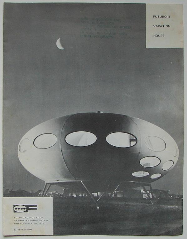 Futuro UFO flying saucer house