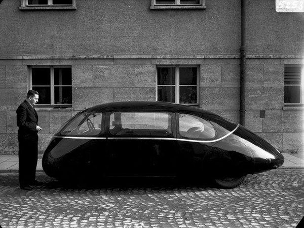 Pillbug car from the 1940s