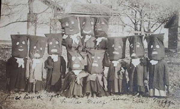 Creepy vintage Halloween costumes c. 1910
