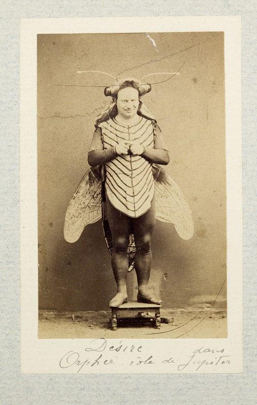 A vintage Halloween costume c. 1865