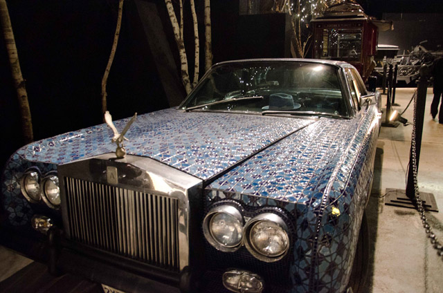 A car on display at the House on the Rock