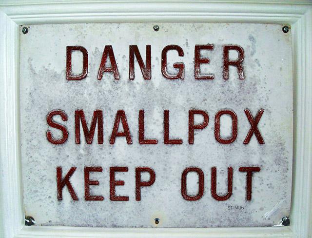 Smallbox warning sign