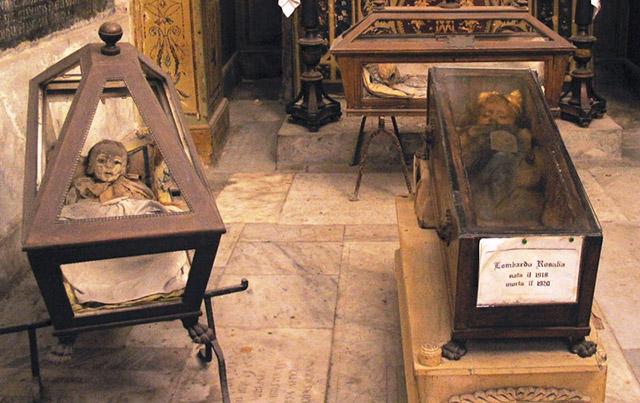 Rosalia Lombardo, the blinking mummy in Italy's Capuchin Catacombs