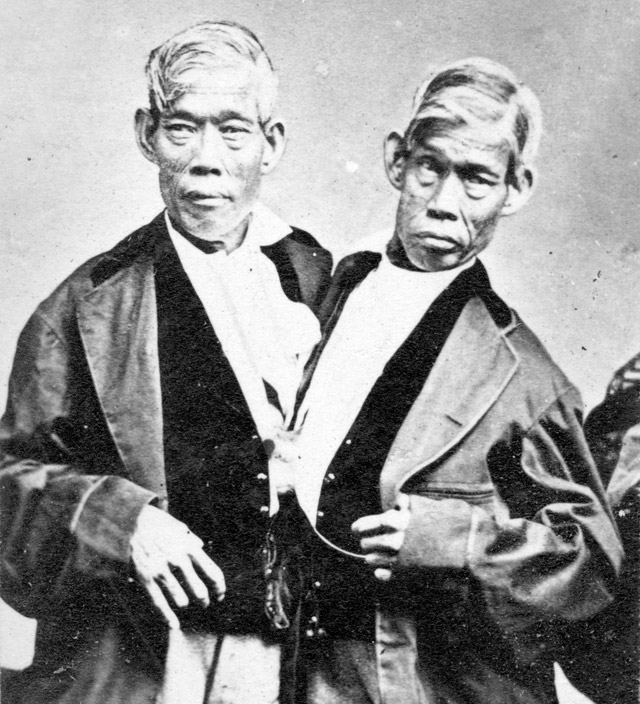 The original Siamese twins Cheng and Eng