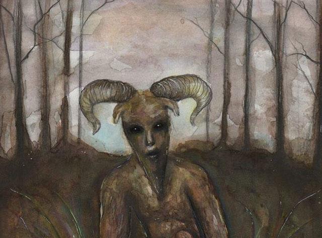 Goatman book cover art