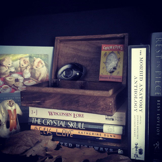Morbid Anatomy Anthology and other weird books