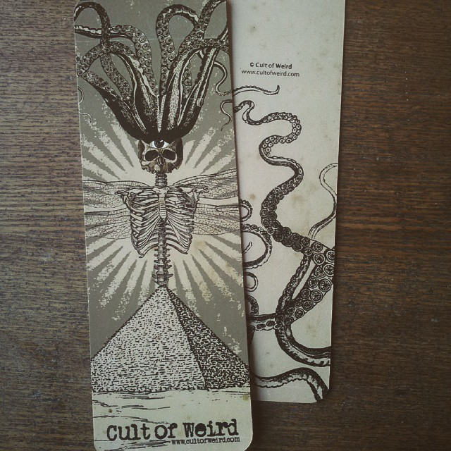 Cult of Weird Victorian illustration bookmarks