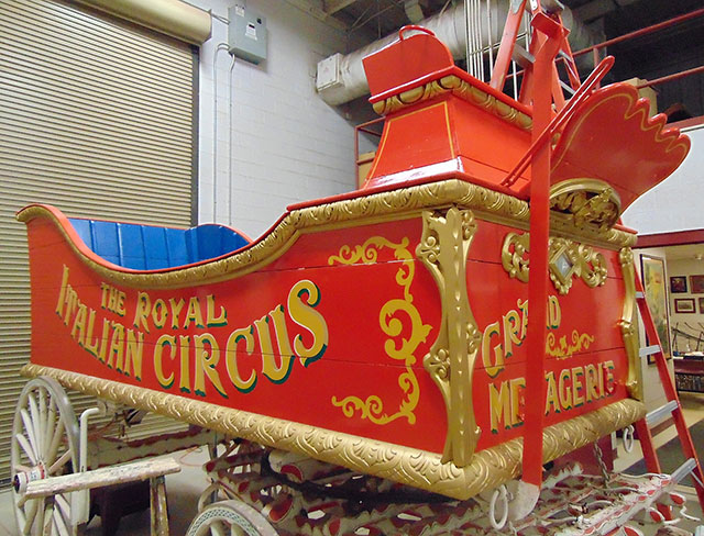 New program at Circus World in Baraboo, WI aims to raise funding for circus wagon restoration