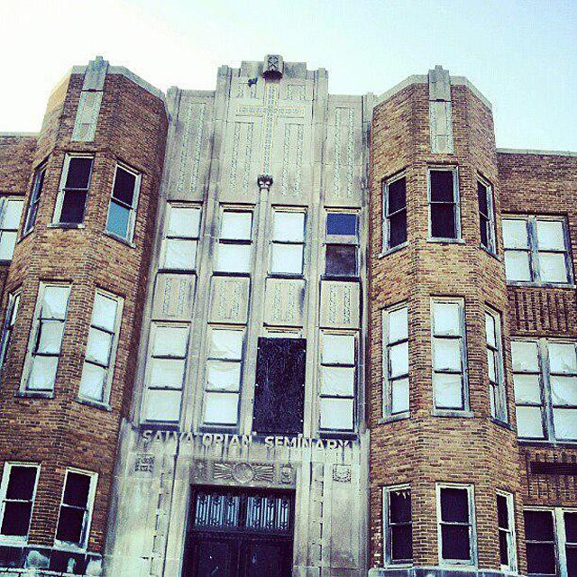 Abandoned JFK Prep school in St. Nazianz