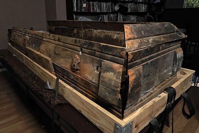 The rotting coffin of JFK assassin Lee Harvey Oswald