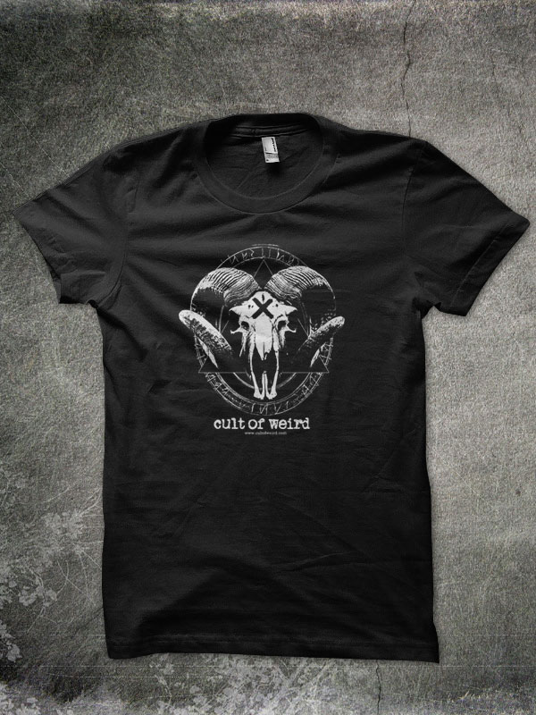 Cult of Weird occult t-shirt design