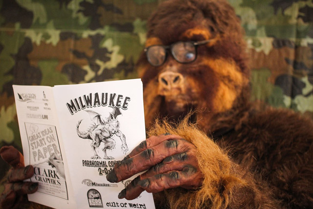 Bigfoot at the Milwaukee Paranormal Conference