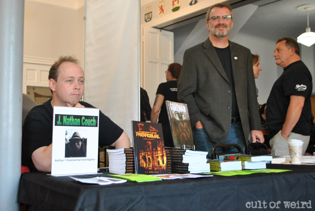 Goatman author J. Nathan Couch and MUFON investigator Mark O'Connell
