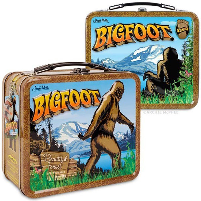 Back to school with the Bigfoot lunchbox