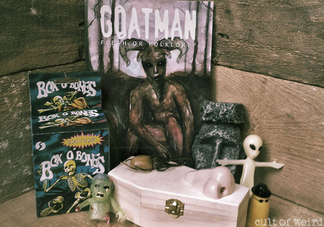Cult of Weird October giveaway on Instagram