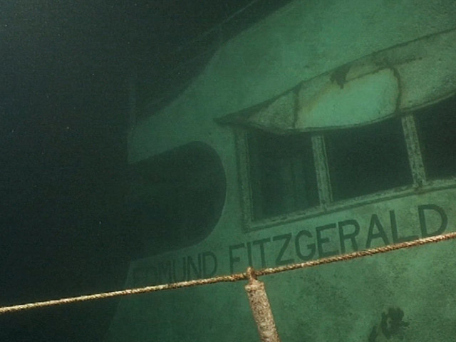 Bodies have never been recovered from the wreck of the Edmund Fitzgerald