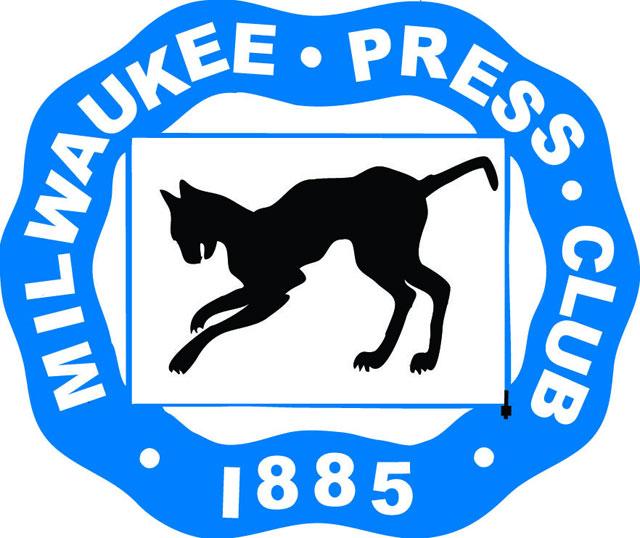 Milwaukee Press Club mummified cat logo
