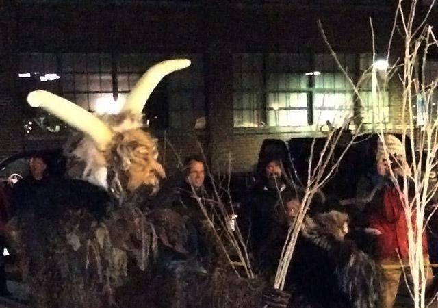 Bloomington Krampus Night parade