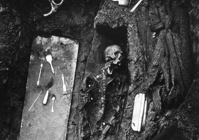 Remains found beneath the Legion of Honor Museum