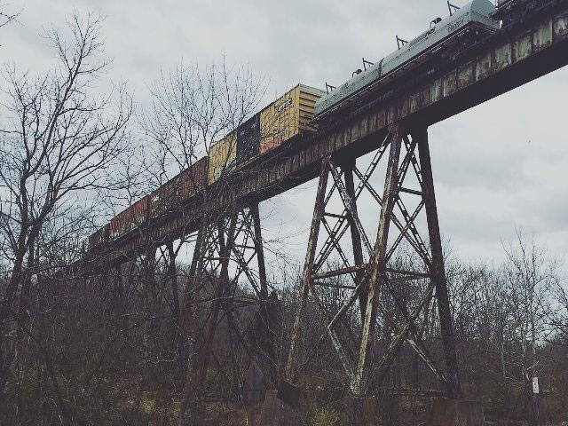Pope Lick Trestle where the goatman is said to live