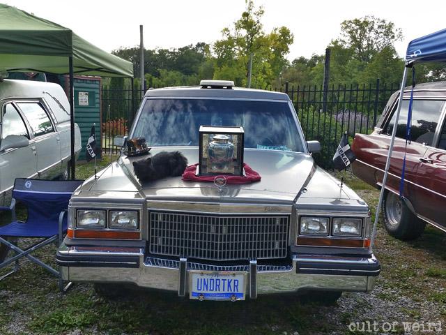 Undertaker hearse