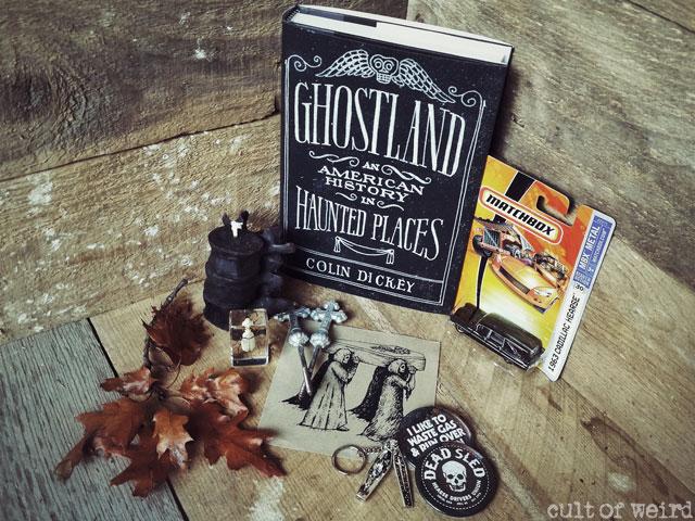 Memento mori box of weird featuring macabre oddities