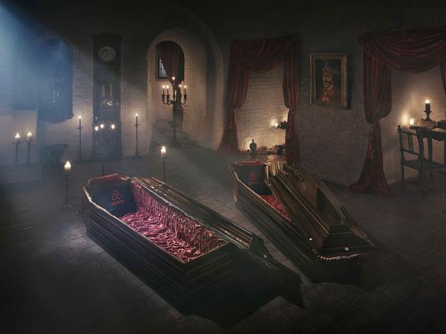 Spend Halloween night in Dracula's Castle