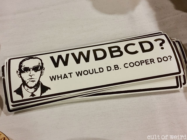 What would D.B. Cooper do? bumper sticker