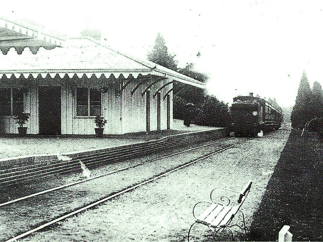 North station of the London Necropolis Railway in Brookwood Cemetery