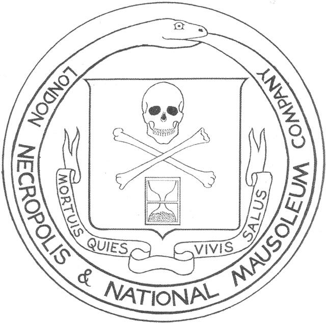 Emblem for the London Necropolis Railway