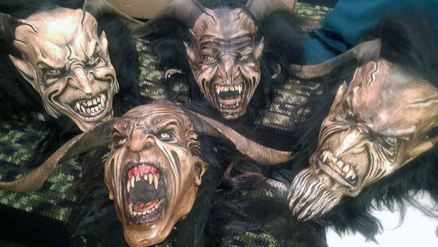 krampus-masks