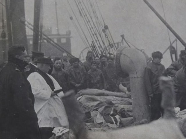 Victims of the Titanic recovered by the Mackay-Bennett