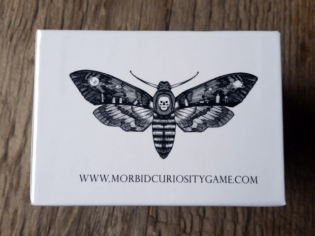 Deaths Head Moth illustration from the Morbid Curiosity game