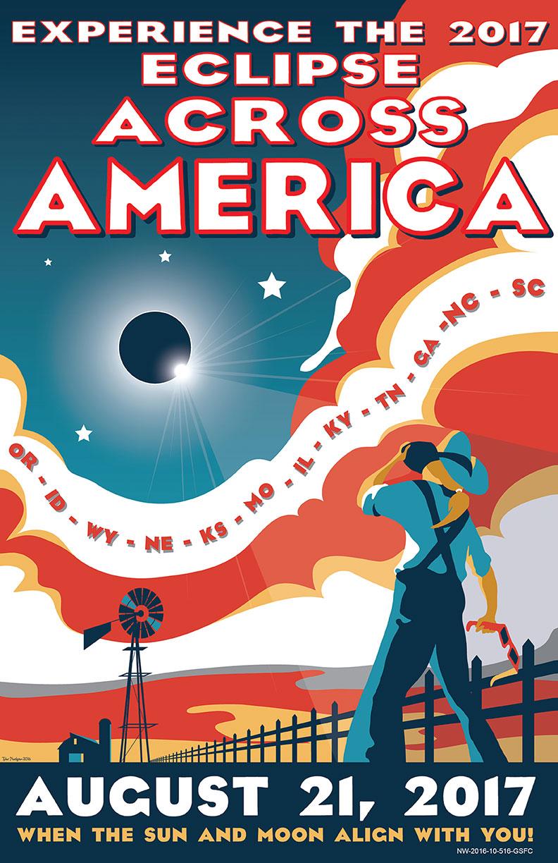 NASA Total Solar Eclipse poster