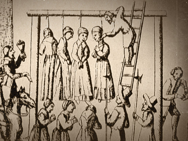 Salem hanging witches