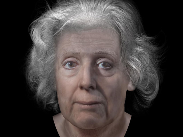 The digitally reconstructed face of Lilias Adie, the Torryburn witch