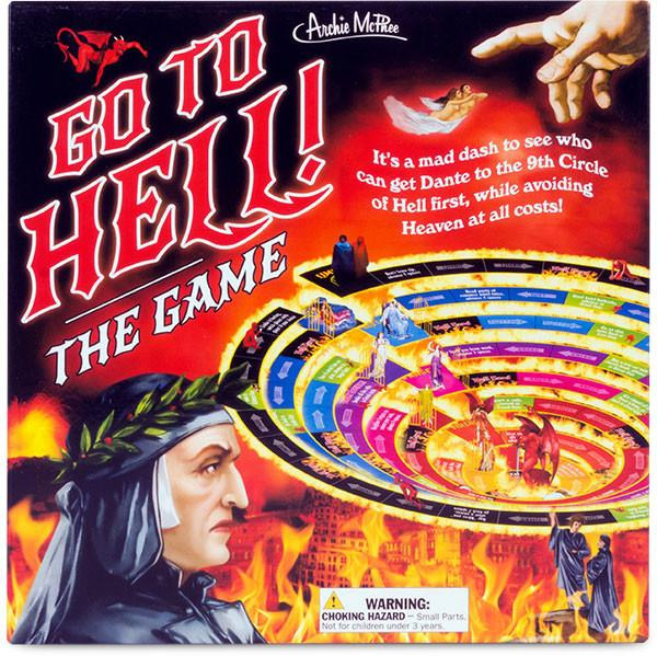 Go to Hell board game