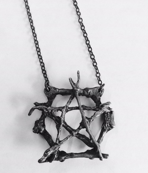Pentacle pendant from Burial Ground