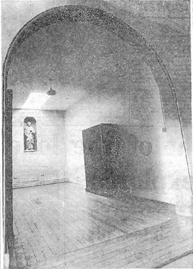 The Ghost Room at Maynooth University, Ireland