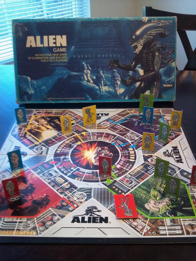 Alien movie vintage game