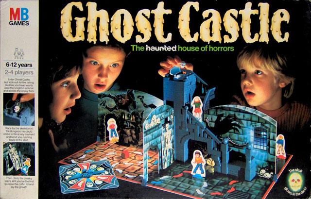 Ghost Castle board game by Milton Bradley
