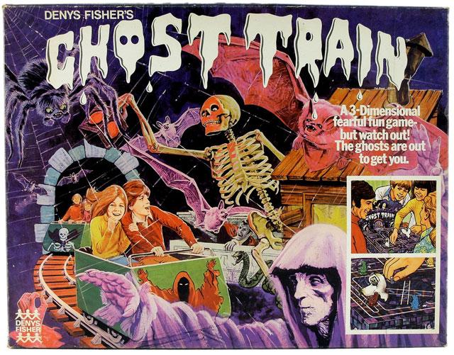 Ghost Train board game