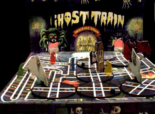 Ghost Train vintage game
