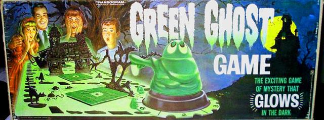 Green Ghost board Game