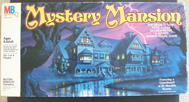 Mystery Mansion board game