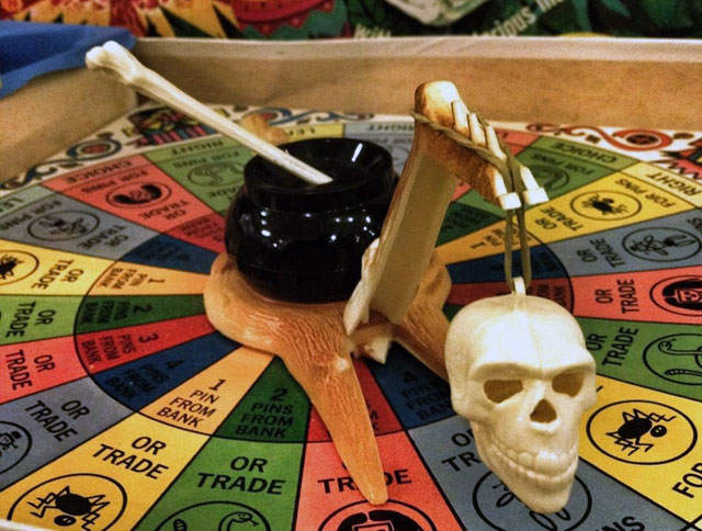 Mystic Skull vintage board game