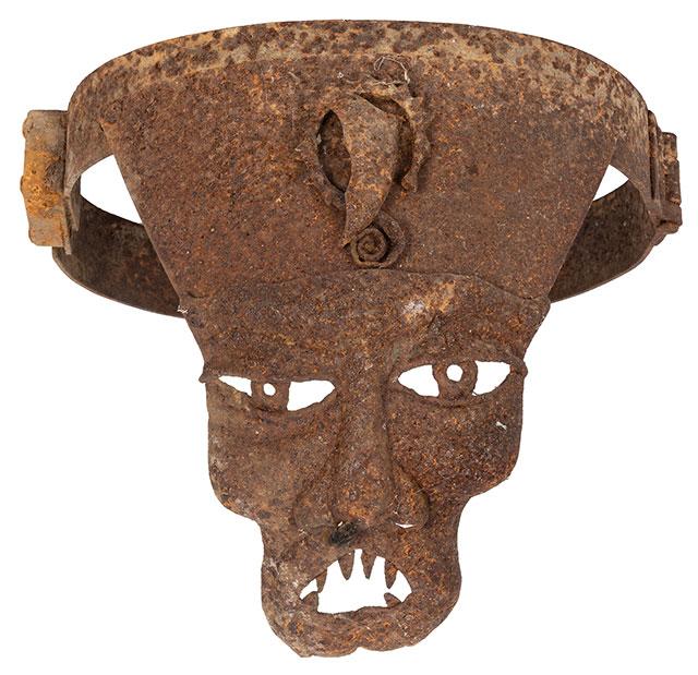 Antique chastity belt